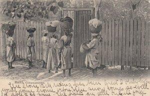 Campagnarddes , HAITI , 1908