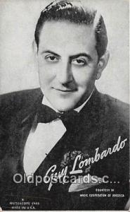 Postcard Post Card Guy Lombardo