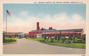 South Carlina Greenville Shriners Hospital For Crippled Children