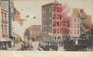 CHICAGO, Illinois, 1901-07 ; Fire Show at White City