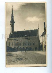 204472 ESTONIA Tallinn Town Hall photographic postcard