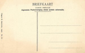 Lovely Vintage 1910s Postcard of, Amsterdam - Singel met Munttoren, Nederland,