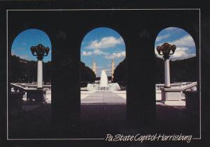 Pennsylvania Harrisburg State Capitol East Wing