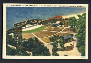 Roanoke Island, North Carolina/NC Postcard,Waterside Theatre