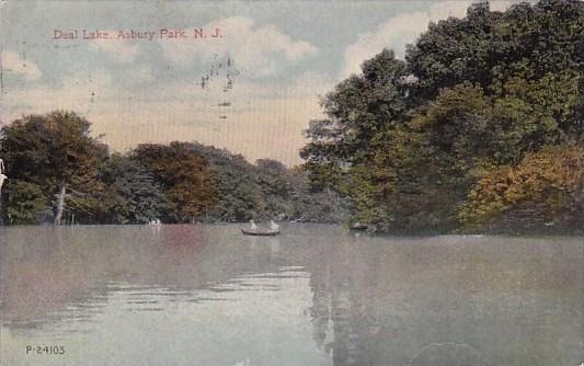 Deal Lake Asbury Park New Jersey 1917