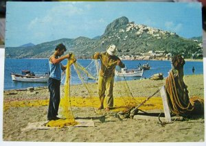 Greece Fishermen - posted 1979