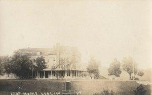 RP: LUDLOW , Vermont, 1910s ; I.O.O.F. Home