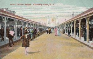 ROCKAWAY BEACH , L.I. , New York , 1908 ; Ocean Parkway Seaside