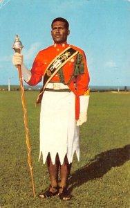 Drum Major, Sgt Epeli Rayawa, Fiji Military Forces Fiji 1972