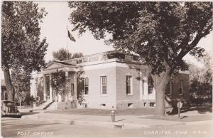 RP, Post Office, CHARITON, Iowa, 1920-1940s