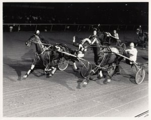 LIBERTY BELL Park Harness Horse Race, SMOOTH MILLIE wins , 1984