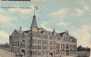 WICHITA, Kansas, PU-1911; Scottish Rite Temple