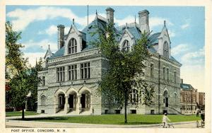 NH - Concord. Post Office