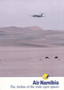 AIR NAMIBIA , The Airline of the wide Open Spaces , 80-90s