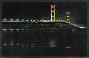 Michigan, The Mackinac Bridge, Mackinaw City, unused