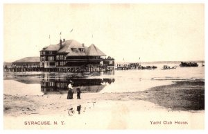 New York   Syracuse Yacht Club House