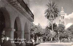 Mexico Old Vintage Antique Post Card Flora de Laragoza Monterrey 1953