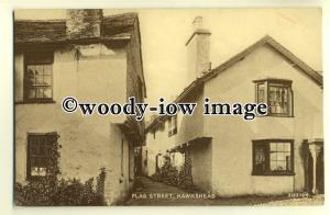 tp0331 - Cumbria - Flag Street in Hawkshead, with Whitewashed Houses - Postcard