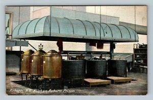 Auburn NY, Kitchen Interior, Auburn State Prison Vintage New York c1910 Postcard
