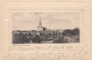 Gruss aus Pritzwalk , Prignitz, Brandenburg, Germany , 1906