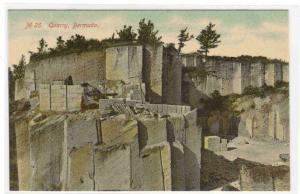 Rock Quarry Bermuda 1910c postcard