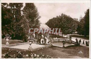 Old Postcard Vittel L'Escalier Grand Hotel and Galleries