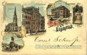 Elberfeld Gruss Aus Greetings From Postcard Post Card  Elberfeld