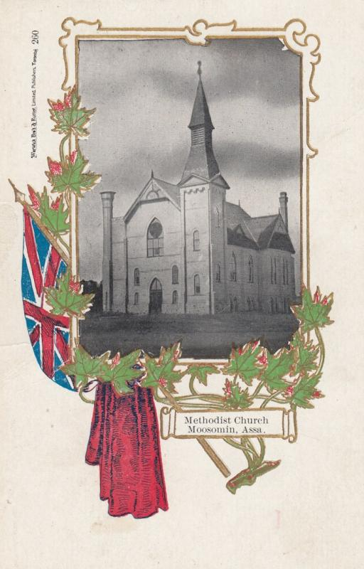 MOOSOMIN, Assiniboia, Saskatchewan, Canada, 1900-1910s; Methodist Church