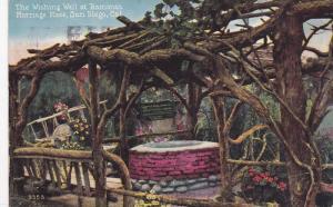 The Wishing Well At Ramona's Marriage Place, San Diego, California, PU-1920