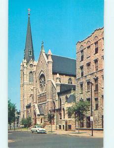 Unused Pre-1980 HOLY NAME CHURCH SCENE Chicago Illinois IL L4212