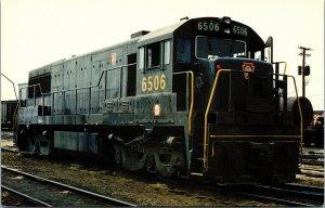 Postcard Embraceable U PRR U25C #6506 6 Axle Diesel Locomotive Unposted