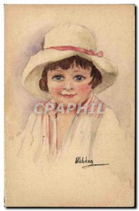 Old Postcard Fancy (drawing hand) Children
