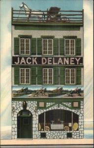 Jack Delaney's Restaurant Greenwich Village New York City Set 4 Linen PCs myn