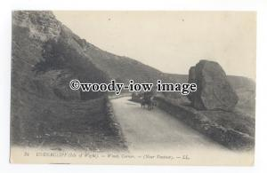 h1532 - Isle of Wight - Buggy Ride at Windy Corner, Ventnor Undercliff- Postcard