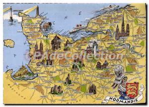 Modern Postcard The Normandy Provinces Francaises