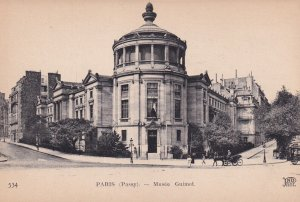 PARIS, France, 1900-1910s; Musee Guimet