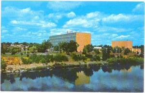 Washington Water Power Building Spokane Washington WA, Chrome