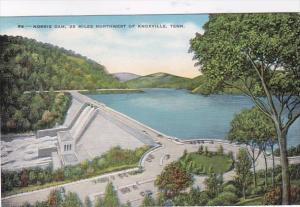 Tennessee Norris Dam 25 Miles Northwest Of Knoxville