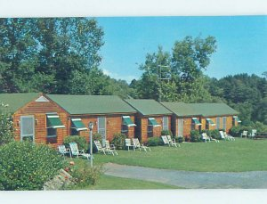Pre-1980 CABIN SCENE Lake Bonaparte - Near Harrisville & Watertown NY AE3110