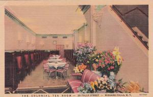 New York Niagara Fall The Colonial Tea Room 39 Falls Street