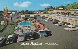 MONTREAL , Quebec , Canada , 50-60s ; Motel Raphael #2