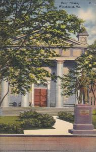 Court House , WINCHESTER , Virginia , PU-1941
