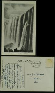 Horseshoe Falls Niagara   1946  - stamp off