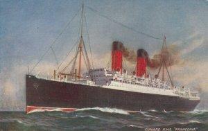 Cunardr Ocean Liner R.M.S. FRANCONIA , 00-10s