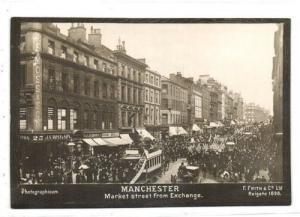 lancs, MANCHESTER, Market Street (1898) Photographicum