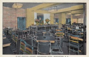 WASHINGTON, D.C., 1930-1940s ; Hi-Hat Cocktail Lounge, Ambassador Hotel