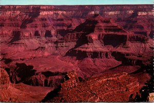 Arizona Grand Canyon Grand View From Hotel El Tovar Fred Harvey