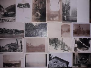 Lot 16 vintage real photo postcards places to identify
