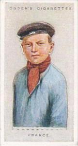 Ogdens Vintage Cigarette Card Children Of All Nations 1924 No 16 France