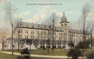 Milwaukee Wisconsin~Sacred Heart Sanitarium~Catholic Sisters Hospital~c1910